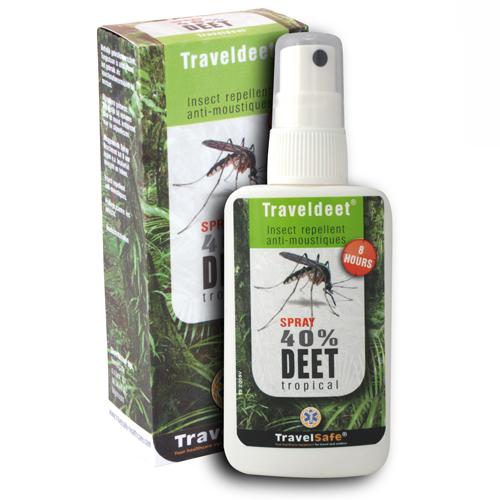 Travelsafe traveldeet 40 % spray - Tarpshop