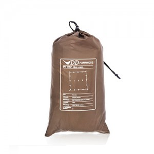 DD Tarp 4 x 4 coyote brown