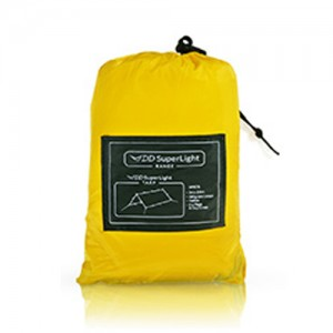 DD Superlight Tarp sandstorm yellow