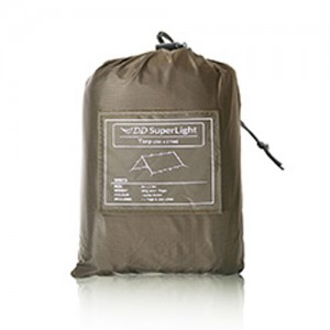 DD Superlight Tarp coyote brown