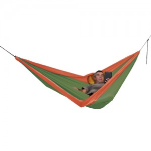 Exped Travel Hammock Duo mossgreen-terracotta