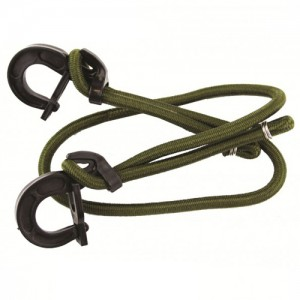 Highlander 8mmx100cm Olive Adjustable Bungee