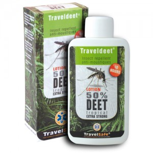 Travelsafe traveldeet 50 % lotion