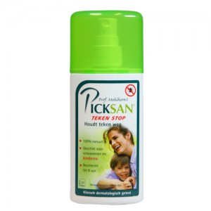Picksan teken stop spray