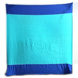 Ticket To The Moon Beach Blanket blauw/ turqouise