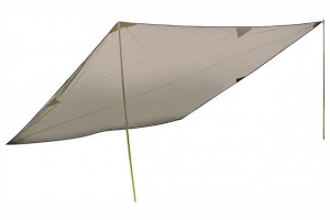 High Peak Tarp 400 x 400 cm beige 1