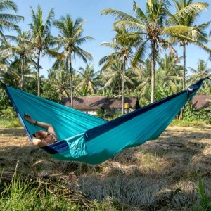 Ticket to the Moon Original Hammock Royal Blue/ Turquoise 1