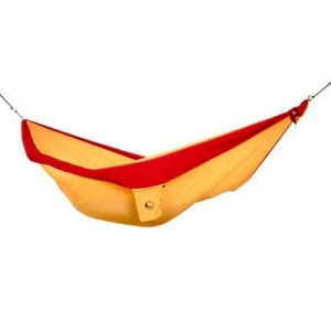 Ticket to the Moon Kingsize Hammock Burgundy/ Dark Yellow