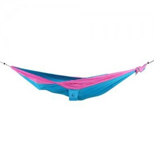 Ticket to the Moon Kingsize Hammock Aqua/ Pink