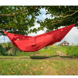 Ticket to the Moon Compact Hammock Burgundy 1