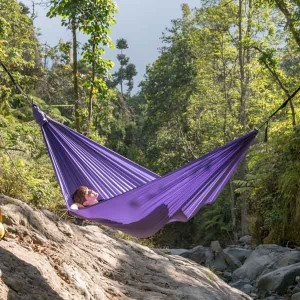 Ticket to the Moon Compact Hammock Purple 1